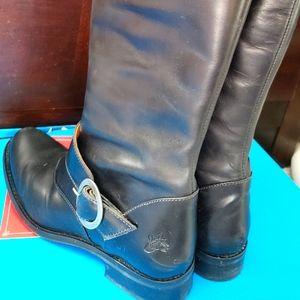 John Fluevog Heudi Buckle Boot (Adrians) Size 8